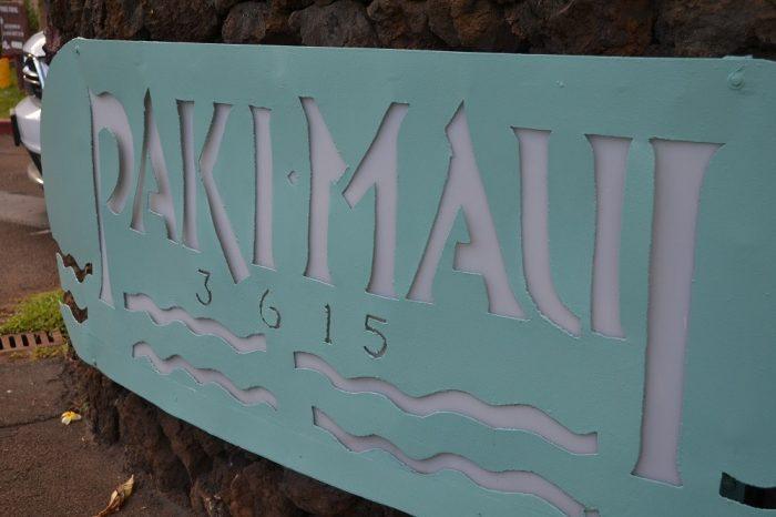 ハワイ語の看板の写真