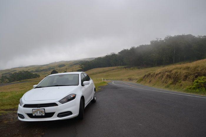 ハワイのレンタカーの写真