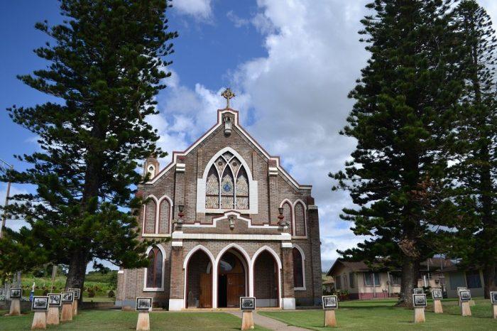 マウイ島の教会の写真
