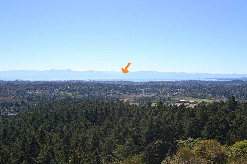 ダグラス山からのビクトリアダウンタウンの写真