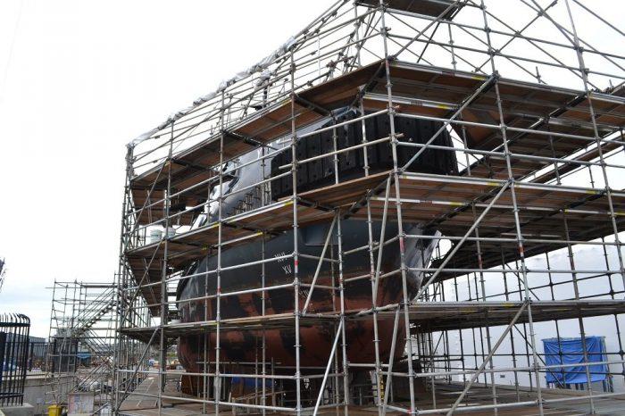 ビクトリアの船の修理工場(船)の写真
