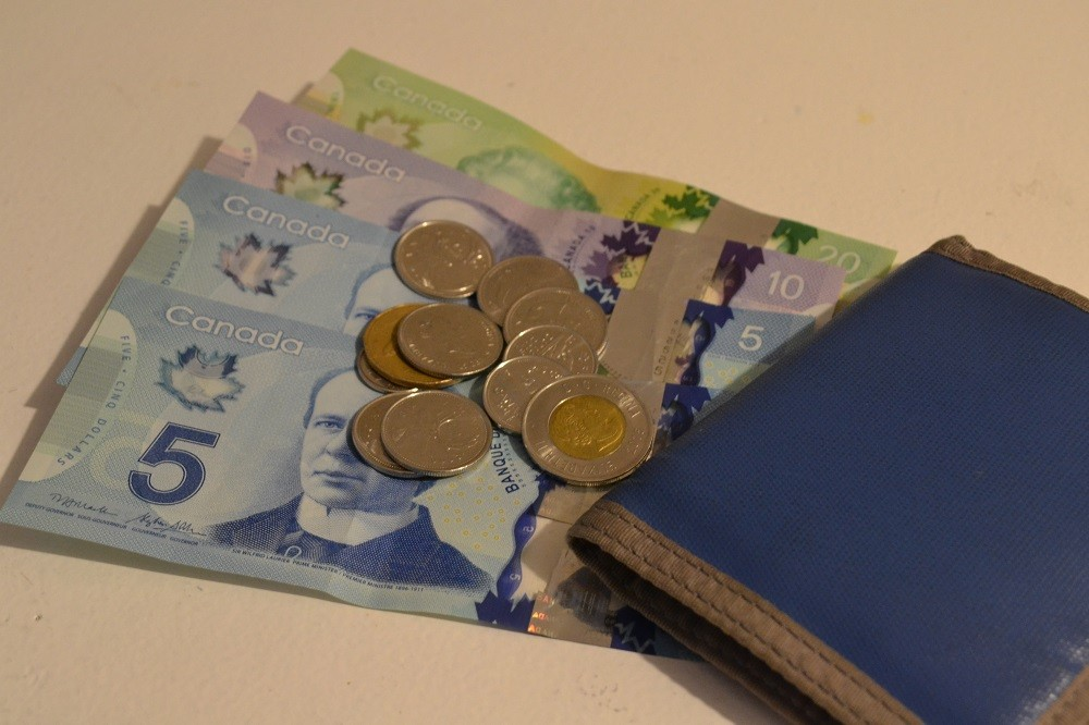 カナダの通貨の写真
