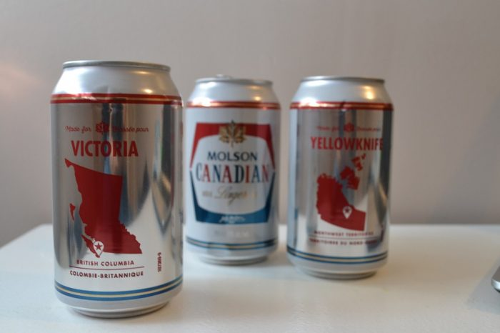 カナダのビールMolson Canadian Vivtoriaデザインの写真