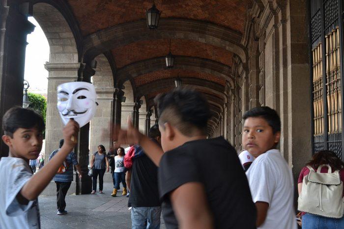 メキシコシティの子供達の写真