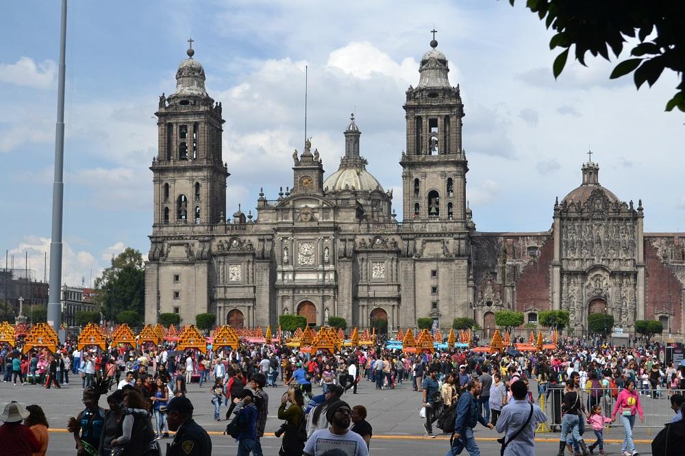 メキシコシティソカロ広場の写真
