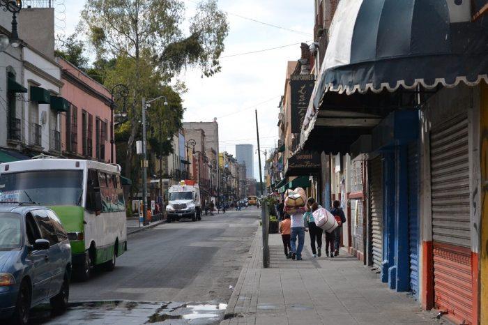 メキシコシティの町並み1の写真