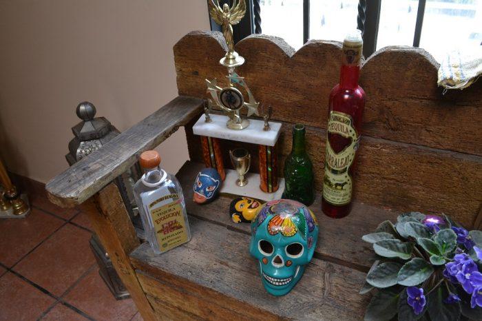 サンフェルナンド館のメキシコの飾りの写真