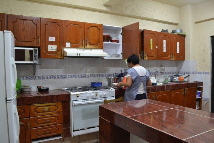 サンフェルナンド館のキッチンの写真