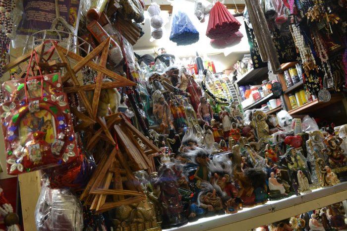 メキシコシティの呪術具1の写真