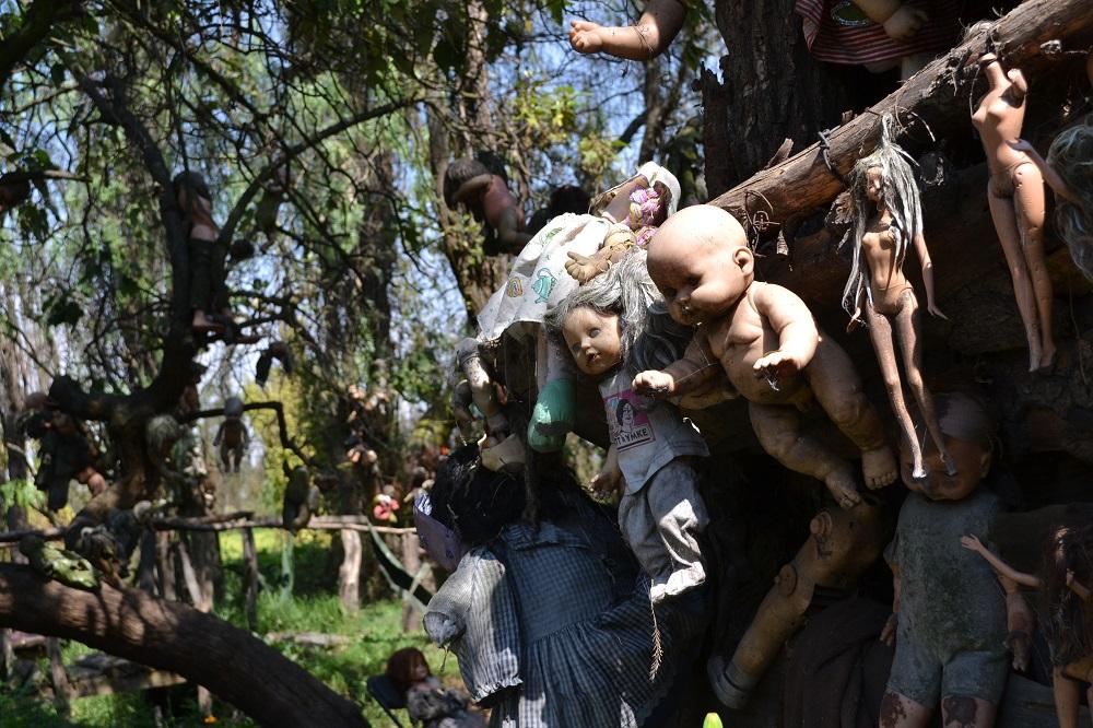 ソチミルコ人形島小屋の写真