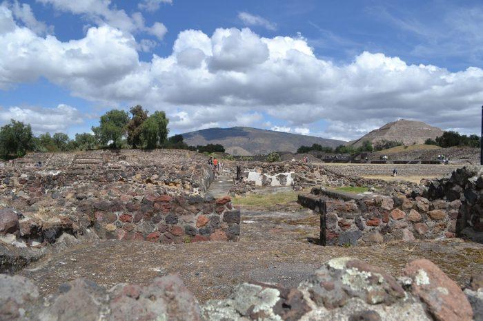 テオティワカン遺跡跡の写真