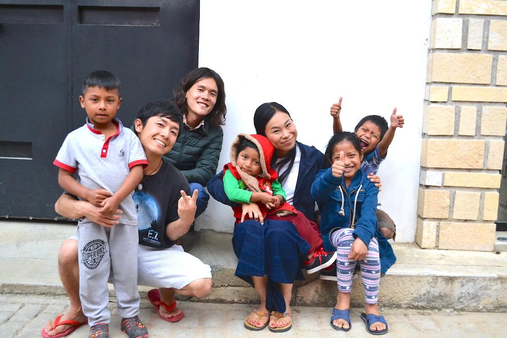 メキシコの子供たちの写真