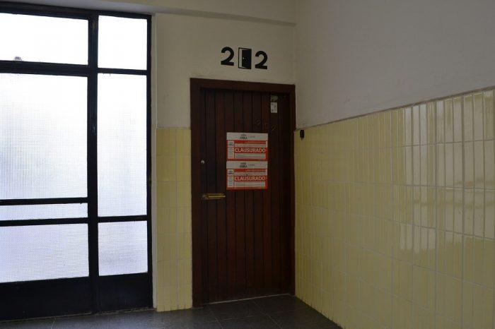 プエブラの安宿202 Hostalの入口の写真
