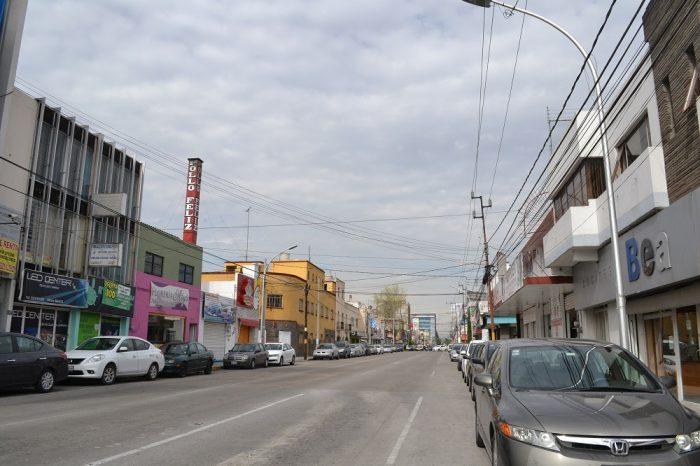 メキシコプエブラの郊外の写真