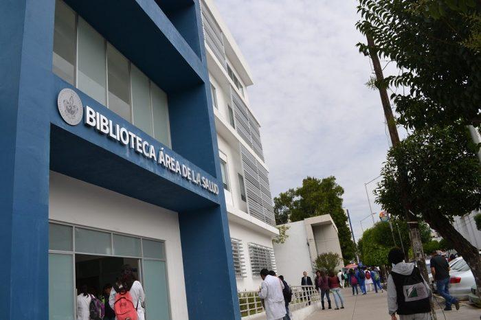 メキシコプエブラの図書館の写真