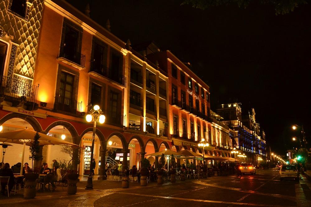 世界遺産|メキシコ・プエブラ歴史地区お洒落夜景散歩☆