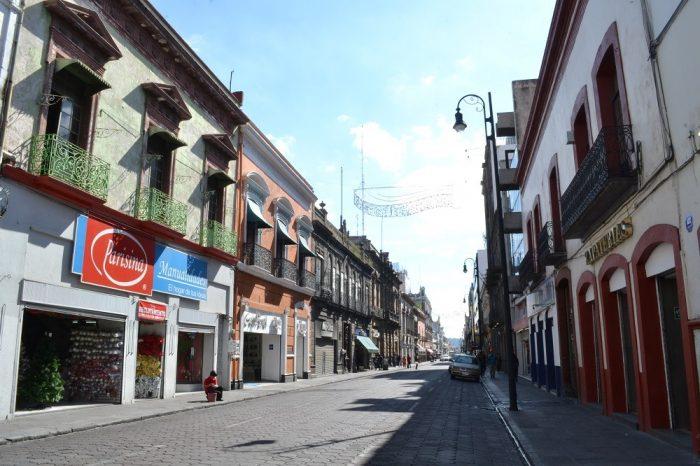 メキシコプエブラの町並み1の写真