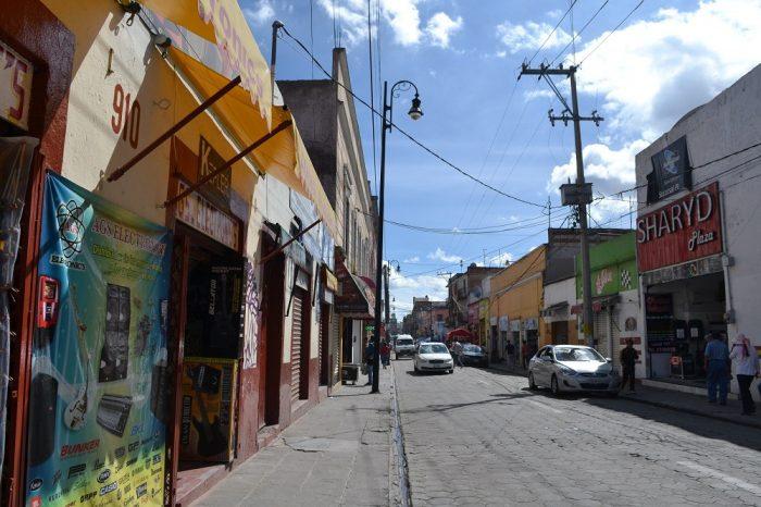 メキシコプエブラの町はずれ3の写真