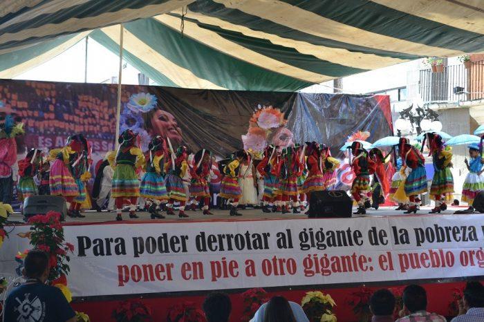 メキシコダンスコンテスト子供部門の写真