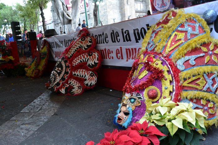 メキシコダンスコンテスト装飾の写真
