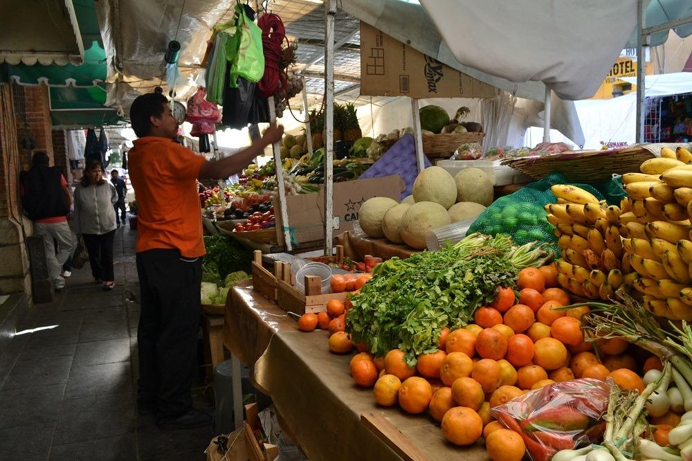 オアハカの野菜市場の写真