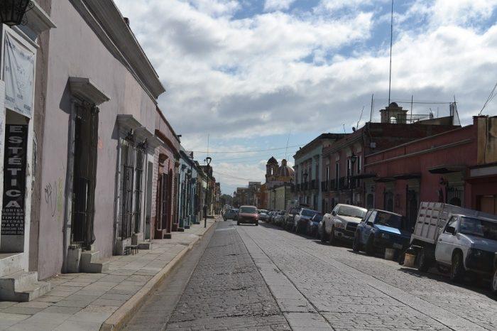 メキシコ・オアハカの町並み3の写真