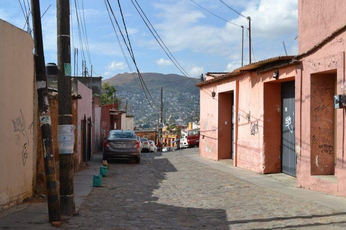 メキシコ・オアハカの民家2の写真