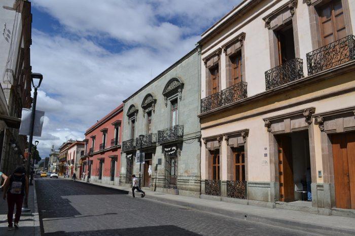 メキシコ・オアハカの町並み2の写真