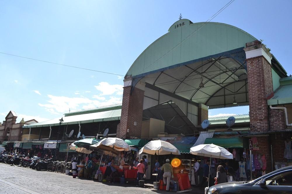 オアハカの市場の写真