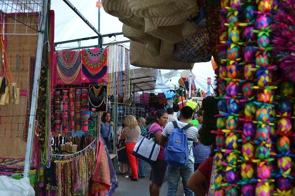 オアハカの雑貨市場の写真