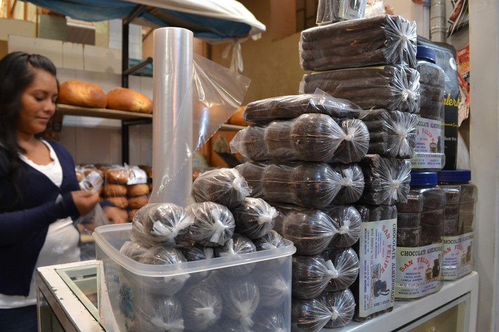 オアハカチョコレート市場の写真