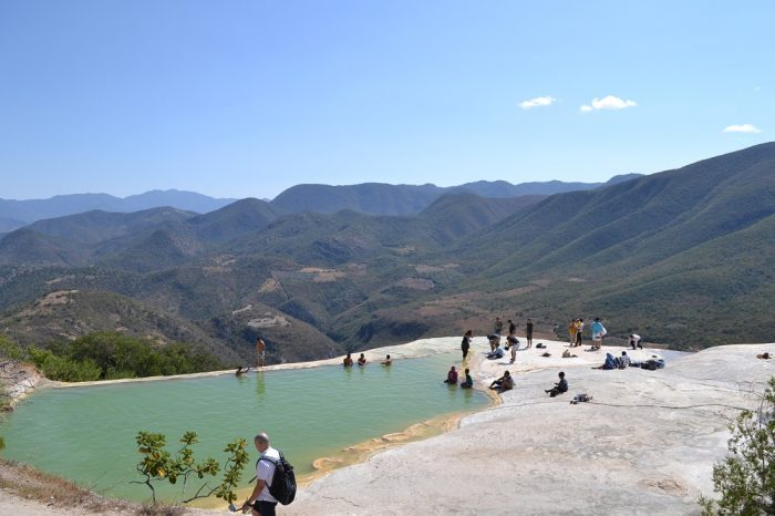 イエルベ・エル・アグアの天然プールの写真