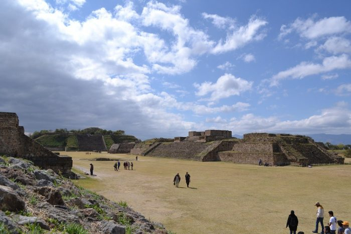 モンテ・アルバン遺跡の写真