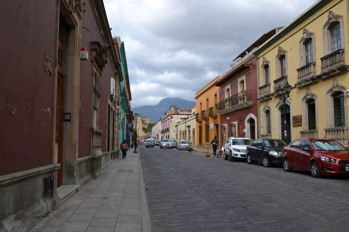 メキシコ・オアハカの町並み1の写真