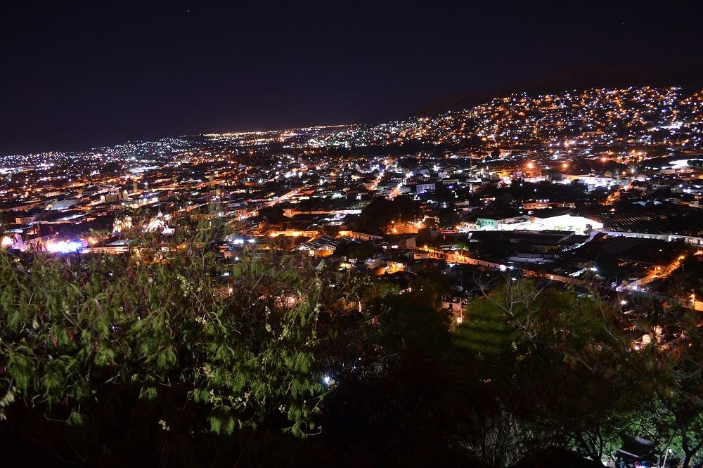 オアハカの夜景2の写真
