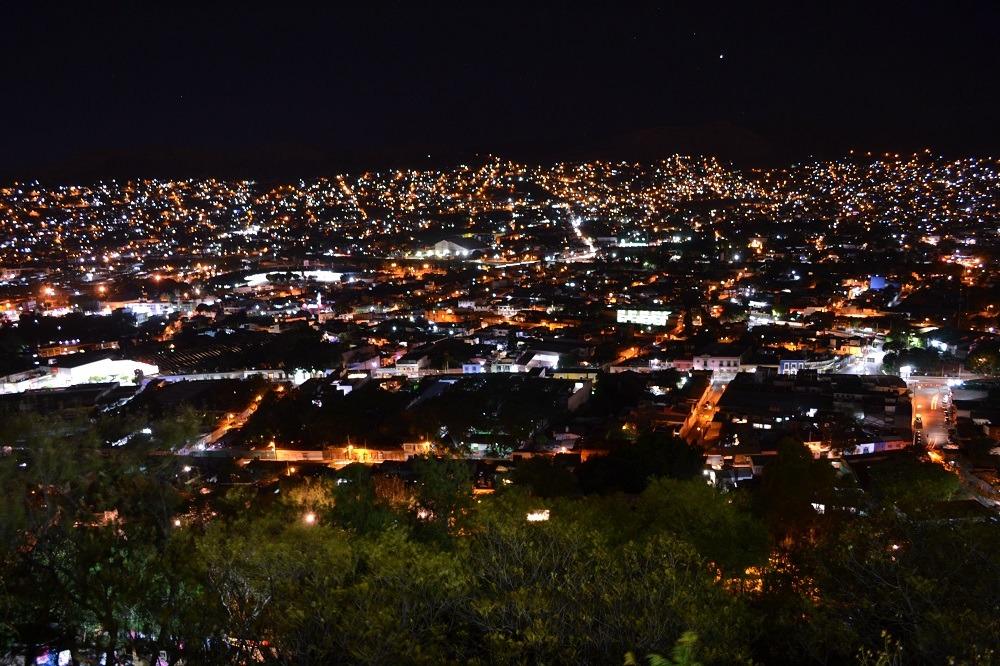 オアハカの夜景1の写真