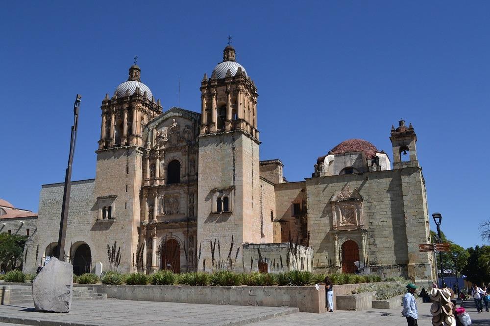 メキシコ・オアハカのサントドミンゴ教会の写真