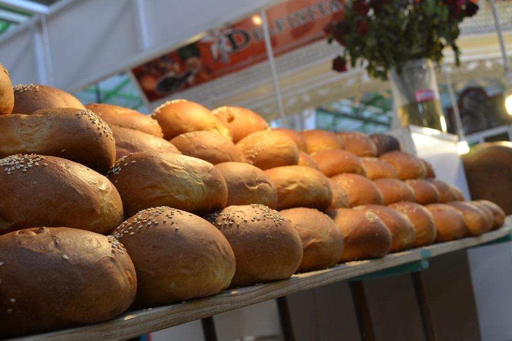 オアハカのパン市場の写真