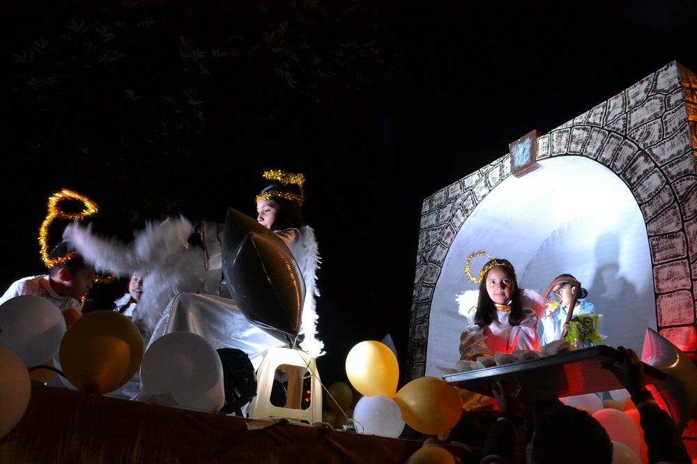 オアハカ・メキシコ革命のパレード(天使)の写真