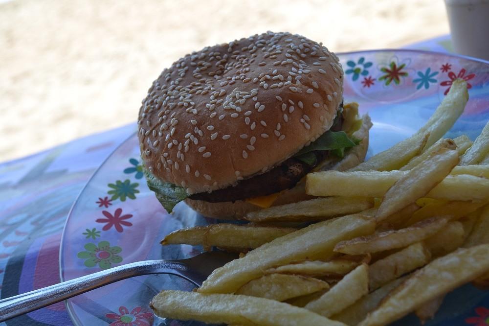 メキシコ・シポリテのオススメのハンバーガーの写真