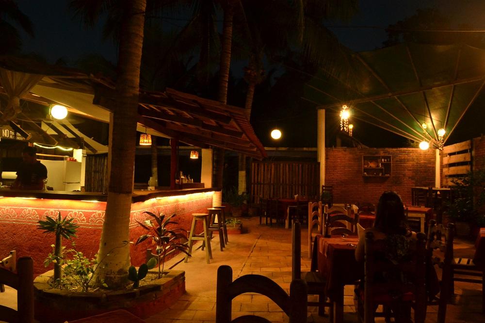 メキシコ・シポリテのお洒落なレストランの写真