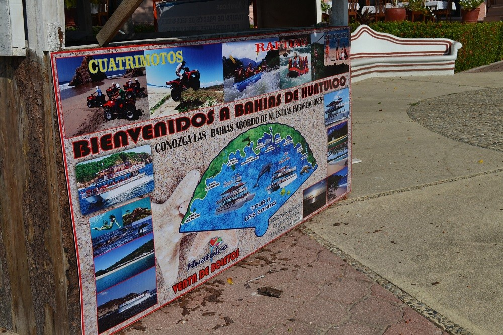 メキシコ・ウアトゥルコの観光ツアーの写真