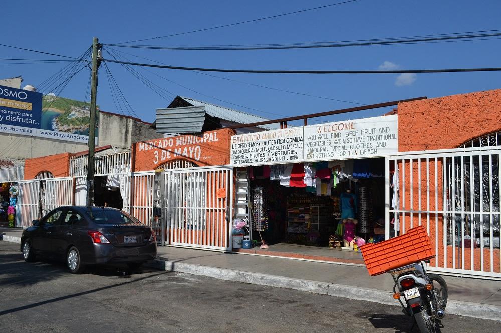 メキシコ・ウアトゥルコのメルカドの写真