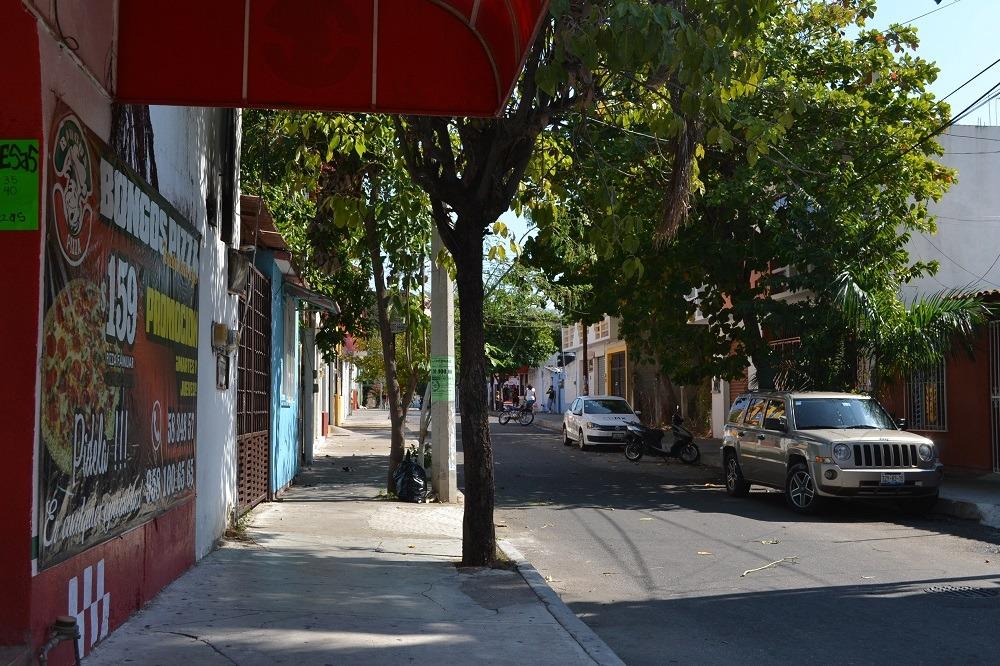 メキシコ・ウアトゥルコの町並みの写真