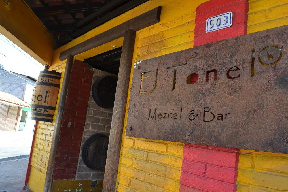 メキシコ・ウアトゥルコのバーの写真