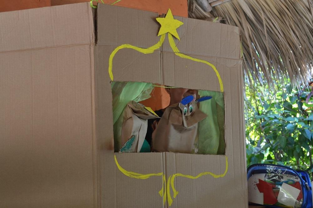 メキシコ・シポリテの福祉施設(人形劇)の写真