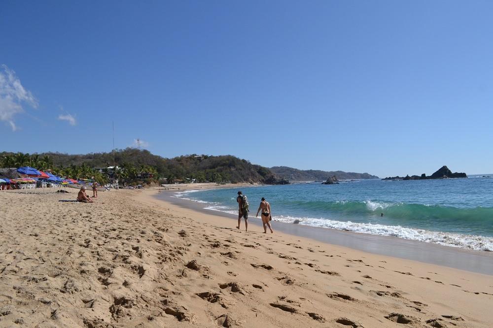 メキシコ・マスンテのビーチの写真