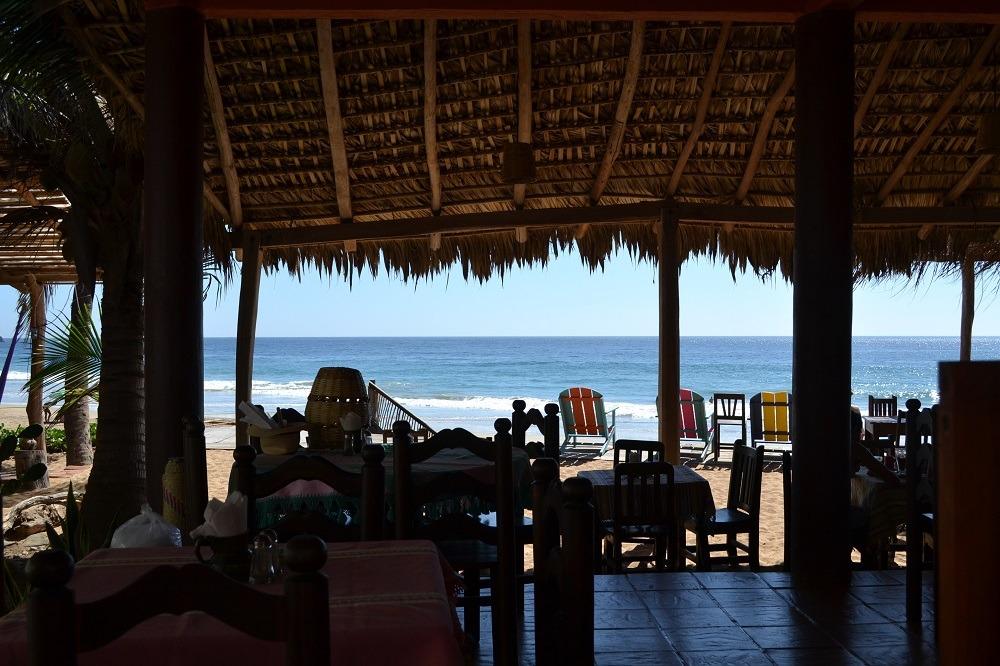 メキシコ・サンアグスティンのレストランの写真