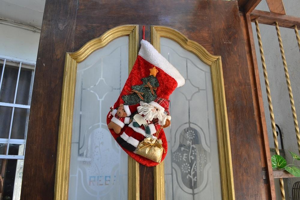 メキシコのクリスマス飾り(長靴)の写真
