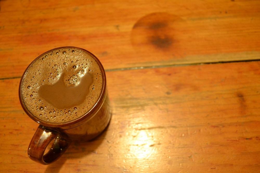 オアハカチョコレートドリンクの写真
